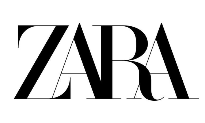 The new Zara logo