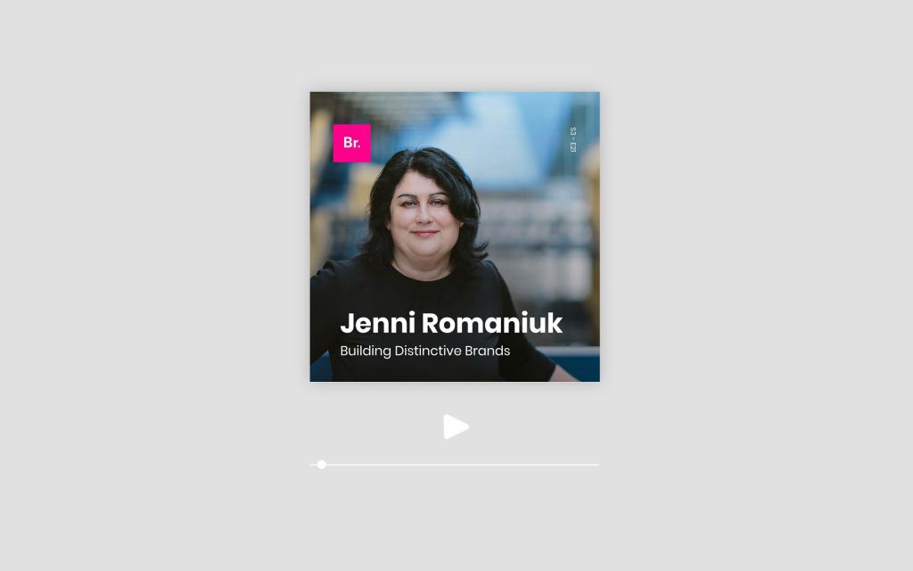 Let's Talk Branding - Jenni Romaniuk