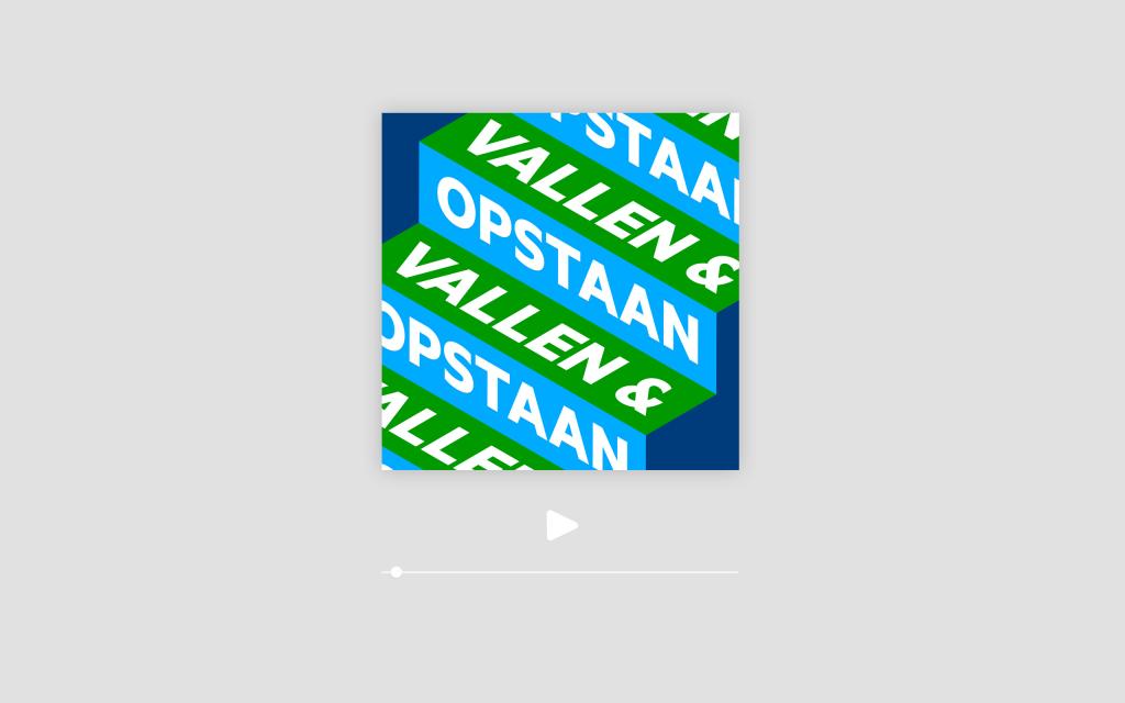 Vallen en Opstaan podcast