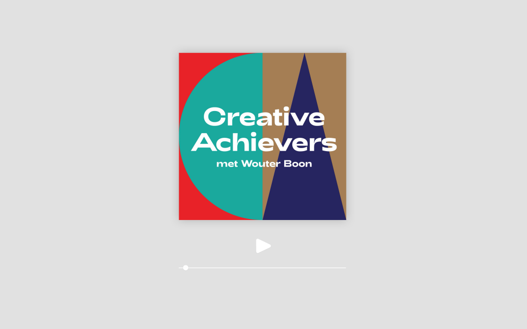 Creative Achievers with Wouter Boon